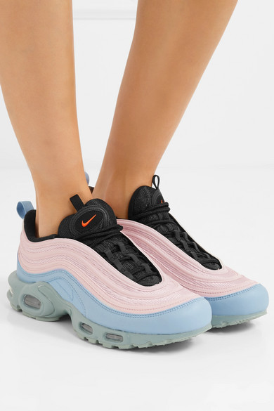 Nike Air Max Plus 97 Sneakers aus Leder und Mesh