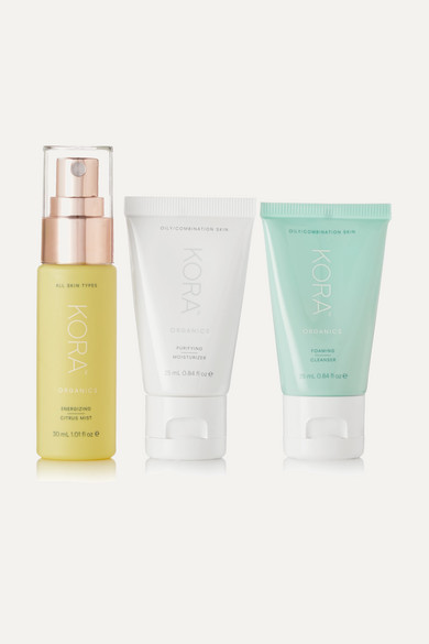 KORA ORGANICS Daily Ritual Kit - Oily/Combination in Colorless