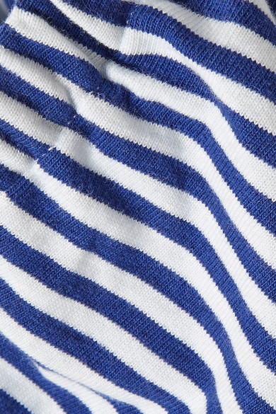 Stripes Mds Stripes Taylor Shortened Uppers Of Cotton-jersey With