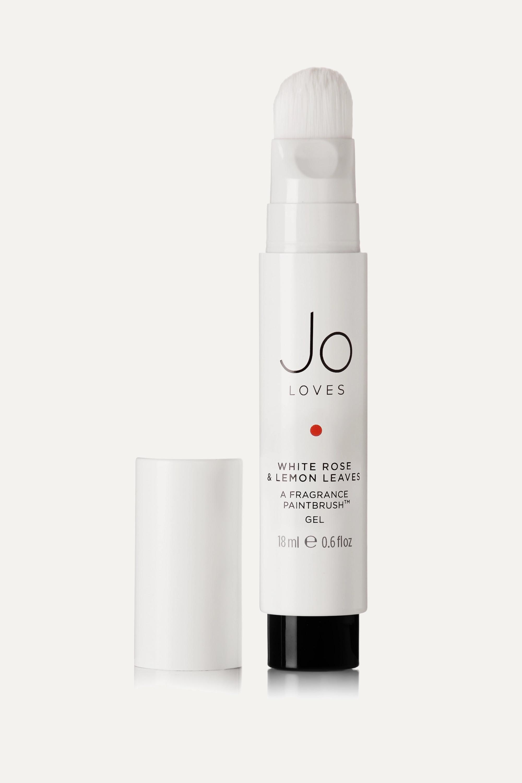 Jo Loves Fragrance Paintbrush - White Rose & Lemon Leaves, 18ml