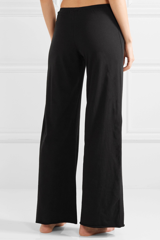 Skin Essentials Pima cotton-jersey pajama pants