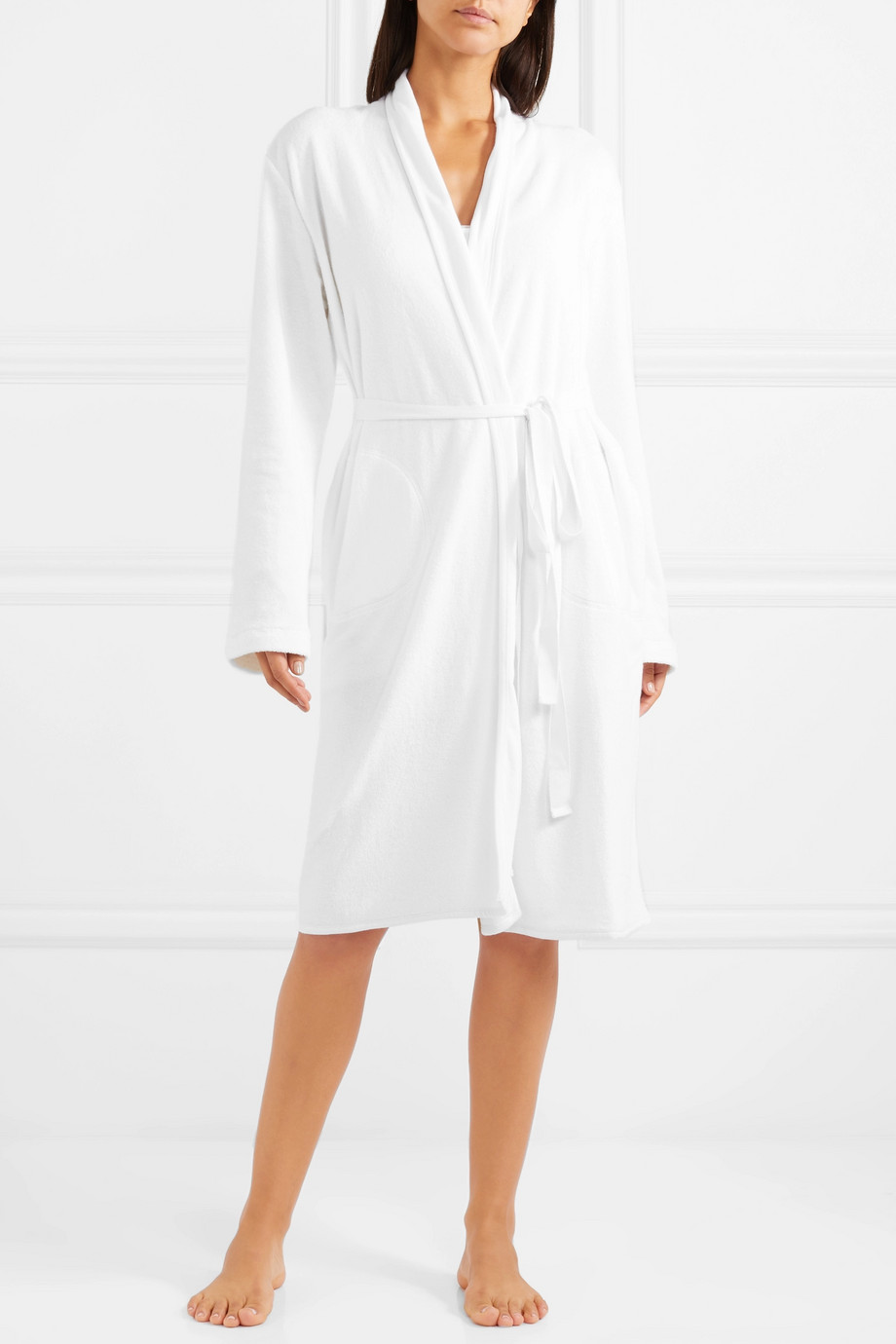 Skin Cotton-terry robe