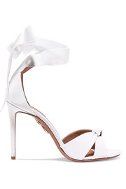 Aquazzura All Tied Up grosgrain sandals
