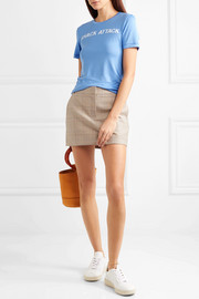 Linfield printed stretch-jersey T-shirt