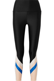 Bang Bang paneled stretch leggings