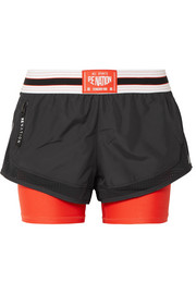 The Deadlift shell and stretch shorts