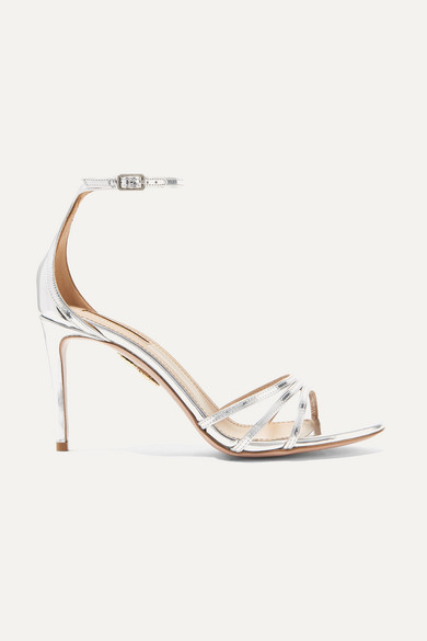 Very Purist sandals - Metallic Aquazzura Bcut8JhsOd