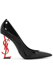 Saint Laurent Opyum Pumps aus Lackleder