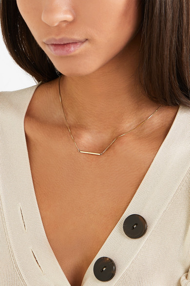Loren Stewart Fairy Floss Id 10-karat Gold Choker 7exHWCGshC