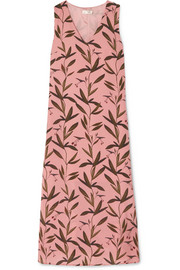 Stine Goya Lucille printed silk crepe de chine midi dress