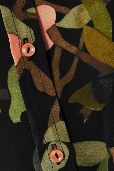 Stine Goya Maxwell bedrucktes Hemd aus Georgette