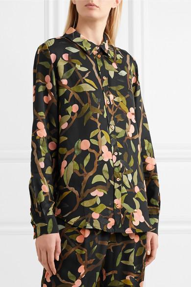 a82e4ea3b27 Stine Goya | Maxwell printed georgette shirt | NET-A-PORTER.COM