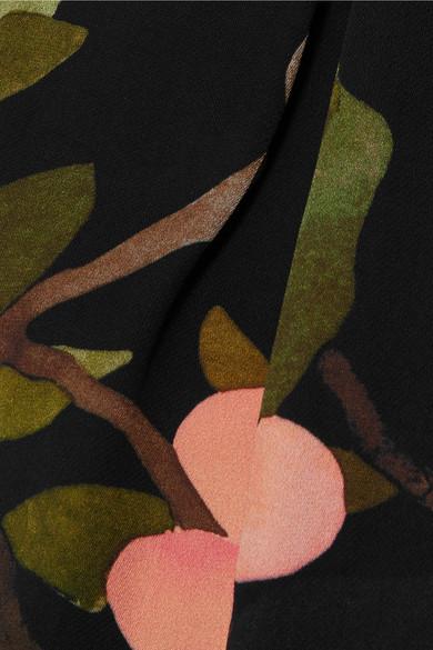 Stine Goya Vinnie bedruckte Hose mit geradem Bein aus Georgette Spielraum Beliebt Top-Qualität Günstiger Preis Günstig Kaufen Footlocker Finish Perfekt Günstig Online Erhalten Verkauf Online Kaufen VurtC3pEkd