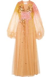 Stine Goya Madeline sequined tulle gown
