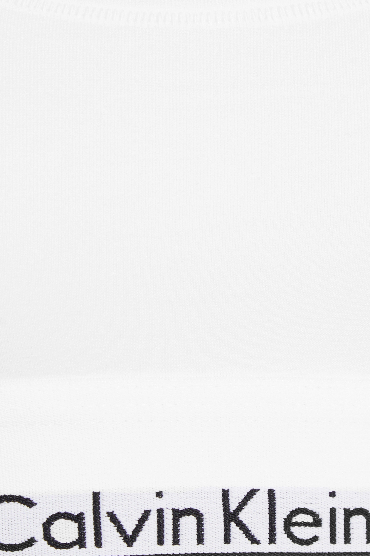 Calvin Klein Underwear Modern Cotton stretch cotton-blend soft-cup bra