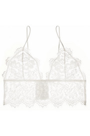 Lace soft-cup bra