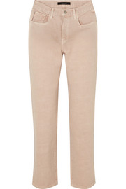 J Brand Wynne high-rise straight-leg jeans