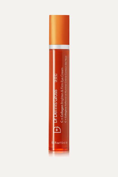 Dr. Dennis Gross Skincare - C Collagen Brighten & Firm Eye Cream, 18ml - Colorless
