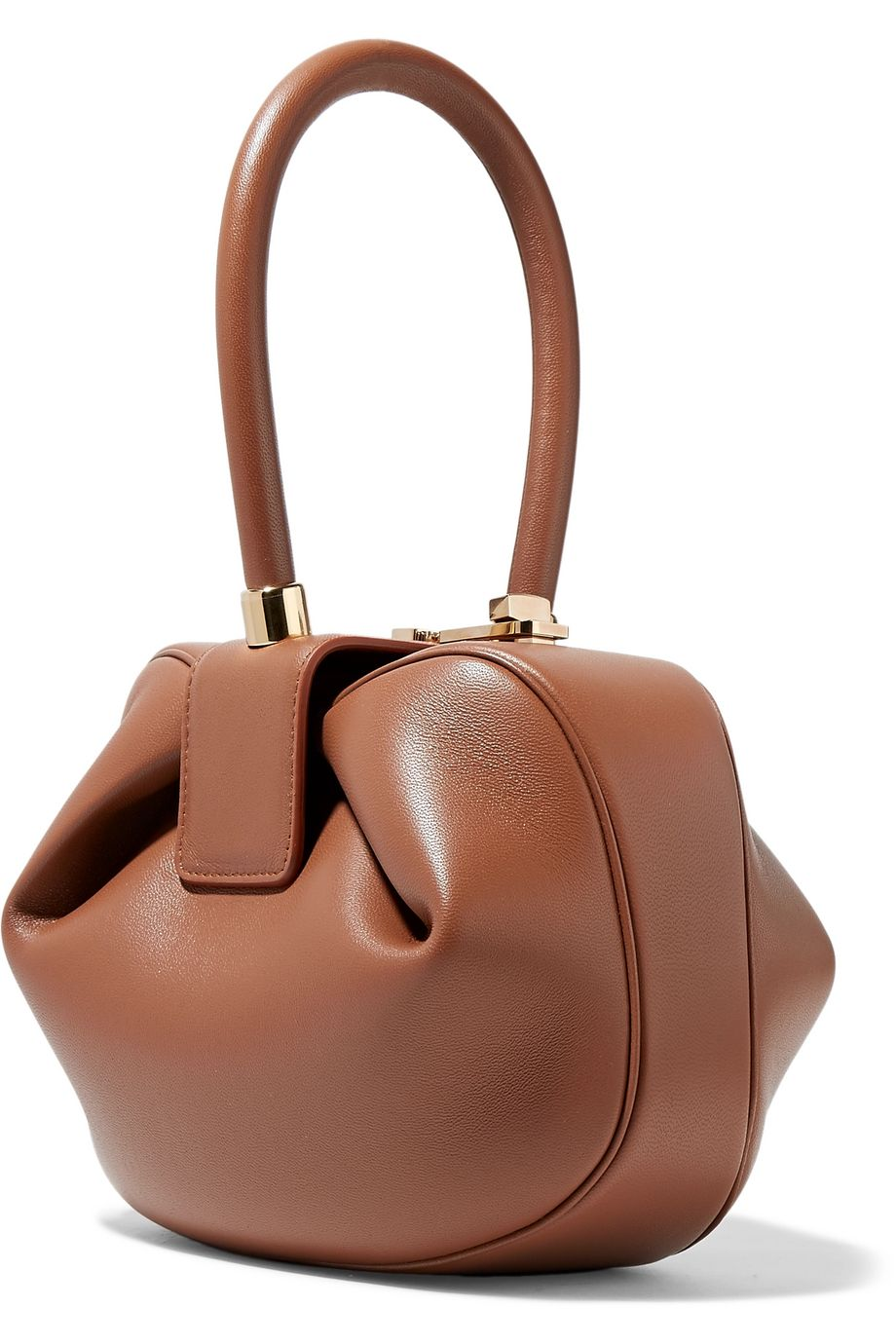 Nina leather tote by GABRIELA HEARST, available on net-a-porter.com for $1995 Angelina Jolie Bags Exact Product