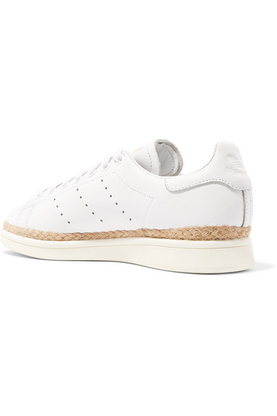 pretty nice d4a16 a51ac Stan Smith Bold rope-trimmed leather sneakers