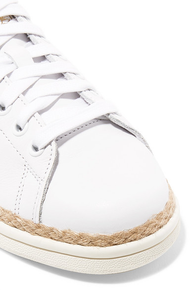 new concept ec49b d5d06 adidas Originals   Stan Smith Bold rope-trimmed leather sneakers ...