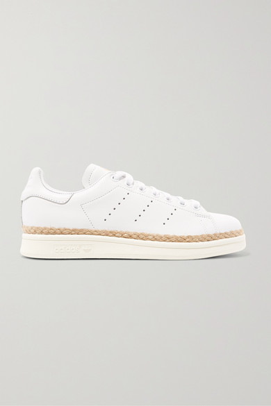 pretty nice 38312 4c3a2 Stan Smith Bold rope-trimmed leather sneakers