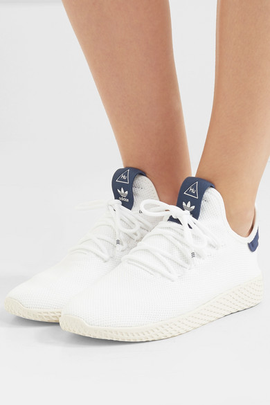 adidas Originals Hu   + Pharrell Williams Tennis Hu Originals Sneakers aus Stretch-Strick a3f3c0