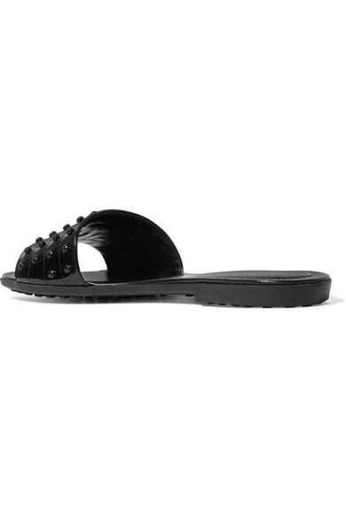 Tod's Gommino Patent Slide best place to buy official cheap online wqJkGHZa4O