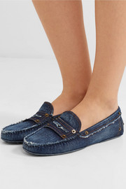 Gommino denim loafers