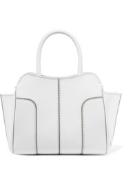 Sella mini leather tote