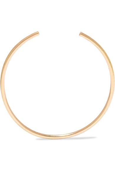 SANSOEURS Circle 18-karat gold earring