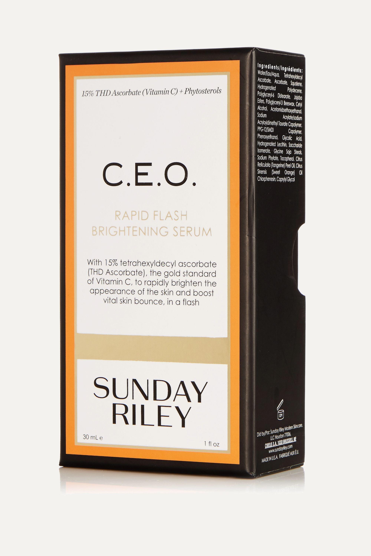 Sunday Riley C.E.O. Rapid Flash Brightening Serum, 30 ml – Serum