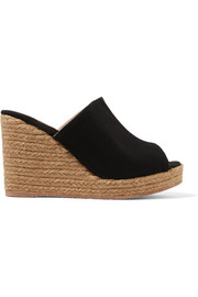 Bubu canvas espadrille wedge sandals