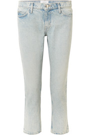 The Cropped mid-rise straight-leg jeans
