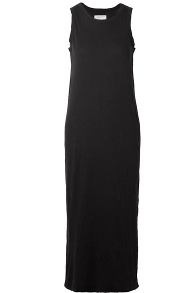 c2a5866863607 Current/Elliott   The Perfect Muscle Tee cotton-jersey midi dress ...