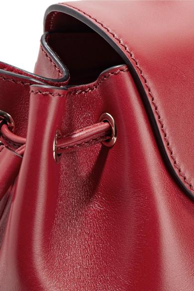 Valentino Demilune Rucksack aus Leder mit Nieten