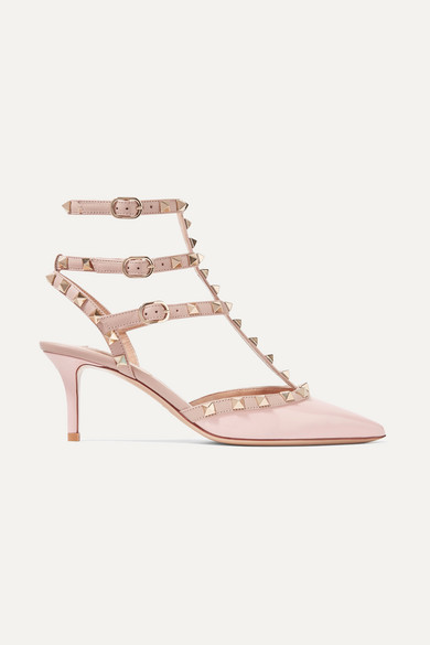 ba8ffa05173 Valentino. Valentino Garavani The Rockstud patent-leather pumps