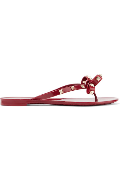 Valentino | aus Valentino Garavani Rockstud Sandalen aus | Gummi 53cb6c