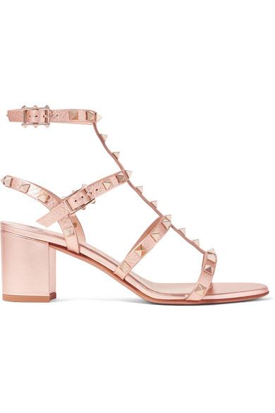 Valentino Garavani The Rockstud Metallic Leather Sandals - IT36.5 Valentino Cheap Online New Arrival Fashion xVplO