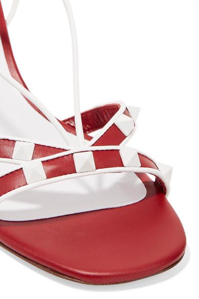 Valentino The Rockstud Sandalen aus Leder
