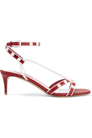 Valentino Valentino Garavani The Rockstud leather sandals