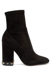 The Rockstud suede ankle boots