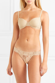 Cosabella Never Say Never Minikini stretch-lace briefs