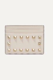 Valentino Valentino Garavani The Rockstud leather cardholder