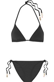 Stella McCartney Timeless Basics embellished bikini