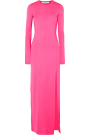 Elizabeth and James Fallon stretch-jersey gown