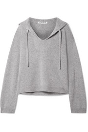 Elizabeth and James Margot oversized cashmere hooded top