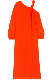 Elizabeth and James Shontae cold-shoulder crepe maxi dress