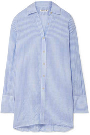 Elizabeth and James Francois striped voile shirt
