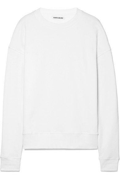 Sweat-shirt En Jersey De Coton Extensible Elizabeth And James Lia